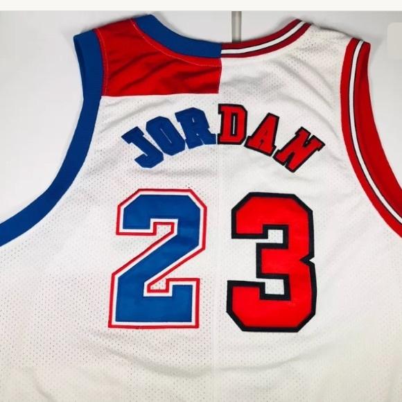 best website a2547 ac74d Michael Jordan NIKE Jersey 1/2 Bulls 1/2 Bullets NWT